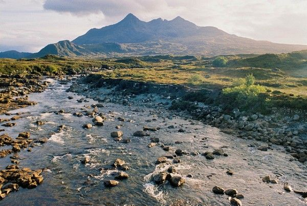 Stunning, rugged Isle of Skye - and the Talisker whiskey distillery, Scotland
