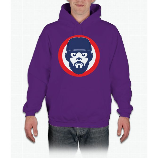 Jake Face chicago cubs Hoodie