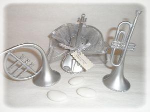 Dragées mariage thème musique