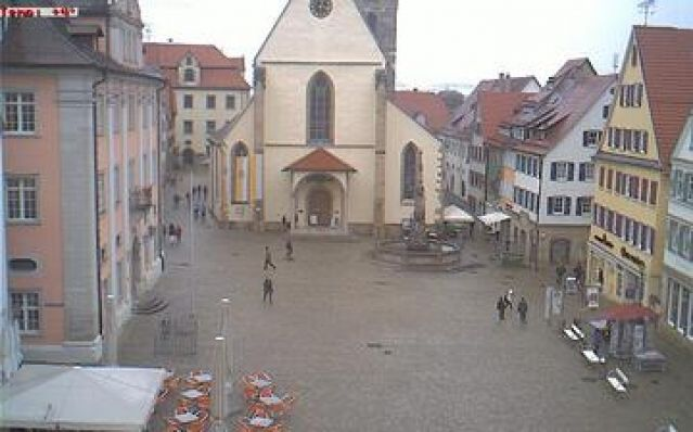 Webcam Rottenburg am Neckar - Marktplatz (Germany) daylight