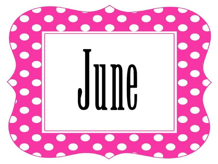 June Calendar Clip Art : Best images about calendar june on pinterest ice