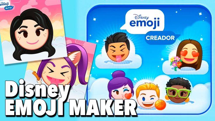 Emoji Maker / Creamos nuestro emoji de Disney Emoji Blitz