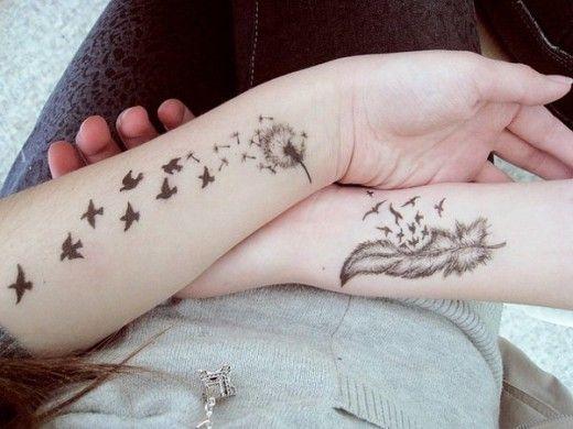Birds-Tattoos-on-Arm-for-Women