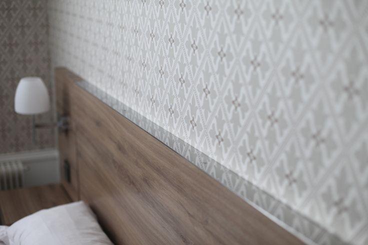 Papier peint Little Green, Bayham Abbey. Chambre d'hôtel Paris. Florence Tory www.f-tory.com