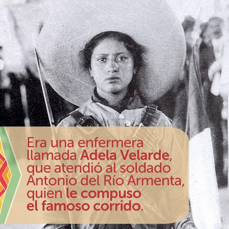 ¿Sabes quién fue la Adelita que inspiró el famoso corrido? Conoce su historia de amor. #Ensueño #RevoluciónMexicana #Adelita #Leyenda #amor #corrido #Adelitas #AdelaVelarde