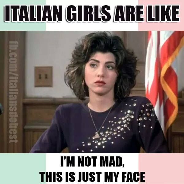 ITALIAN GIRLS ARE LIKE ...... HA ! :) https://www.facebook.com/126600004055345/photos/a.289707721077905.62336.126600004055345/963946736987330/?type=3