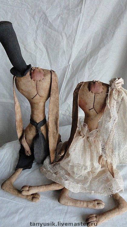 """Ароматизированные куклы ручной работы. Ярмарка Мастеров - ручная работа """"Сладкая парочка"""". Handmade."""