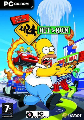 The Simpsons Hit and Run Free Download PC Game - Free Download PC Game