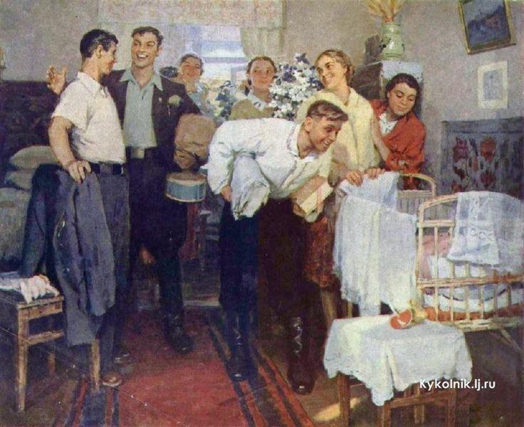 работы советский быт в картинах художников популярный сорт северных