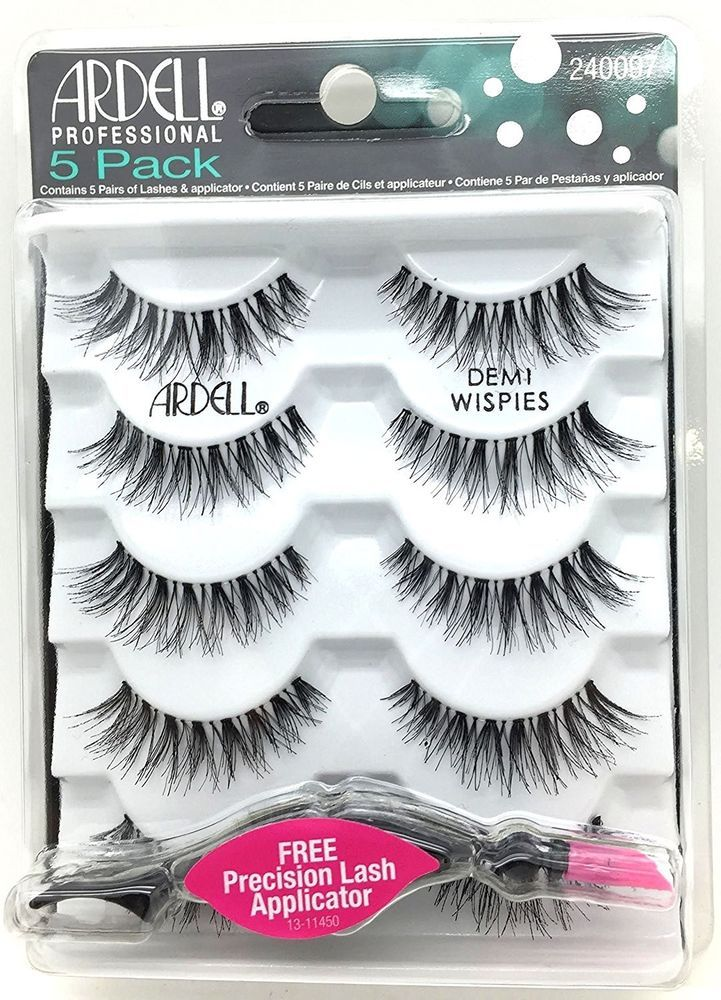 cf2788b1d17 Ardell NATURAL LOOK MULTIPACK DEMI WISPIES False Eyelashes Fake Lashes 5  pairs #Ardell