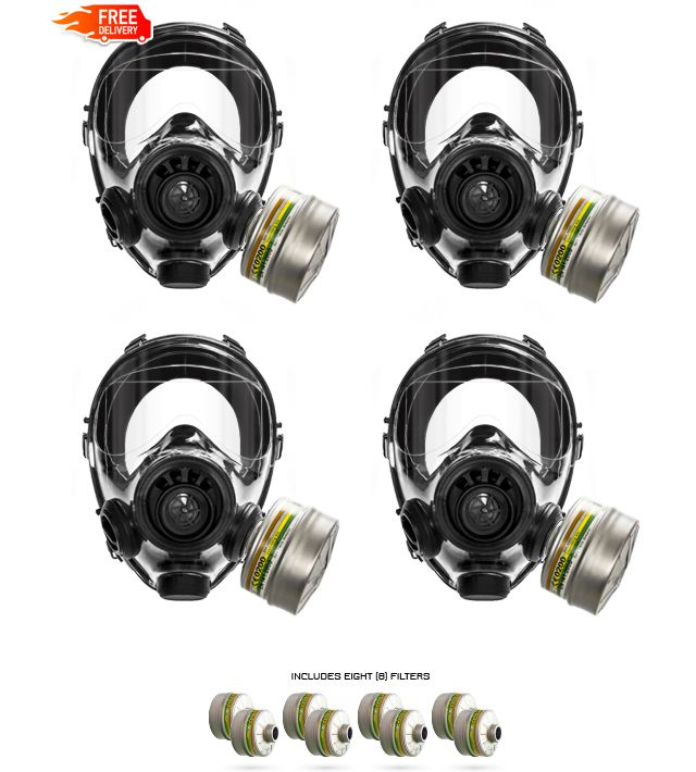 Advanced Tactical Gas Mask - Mestel SGE 400/3 BB | Top Tier Gear USA
