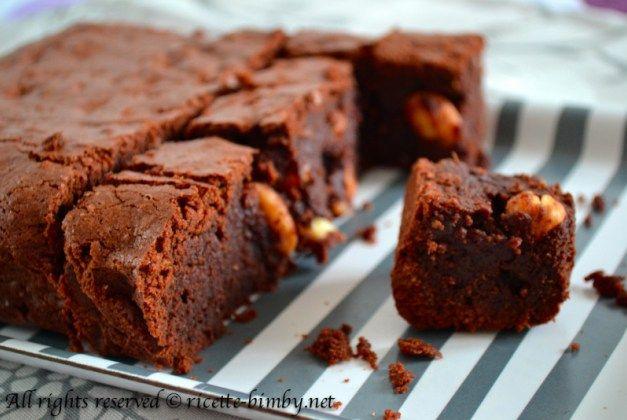 Brownies al cioccolato bimby 3