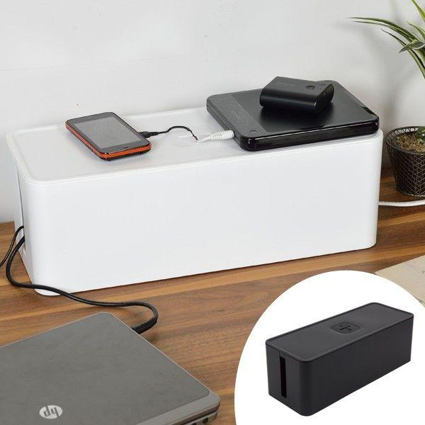 コード タップ ボックスの通販|Wowma! ケーブルボックス テーブルタップボックス 6口対応