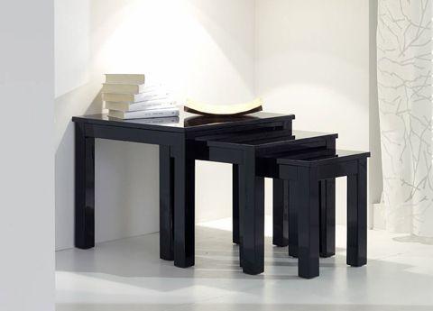 Lucido High Gloss Nest of Tables
