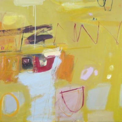 * Oil on canvas * 80 x 80 cm * Framed