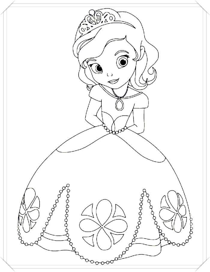 Los Mas Lindos Dibujos De Princesas Para Colorear Y Pintar A Todo Color I Princesas Para Colorear Paginas Para Colorear Disney Dibujos Para Colorear Sencillos