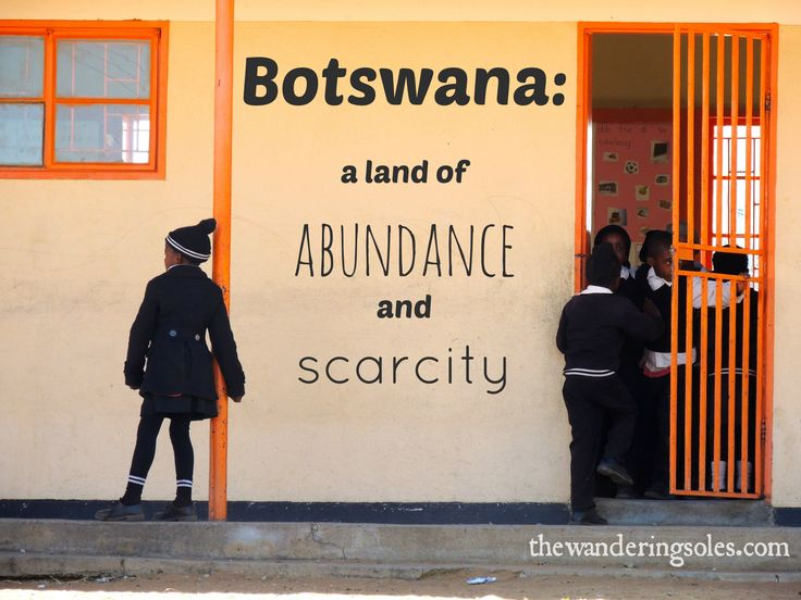 Botswana: A Land of Abundance and Scarcity via The Wandering Soles - travel in southern Botswana villages, lending a hand to Peace Corps volunteers