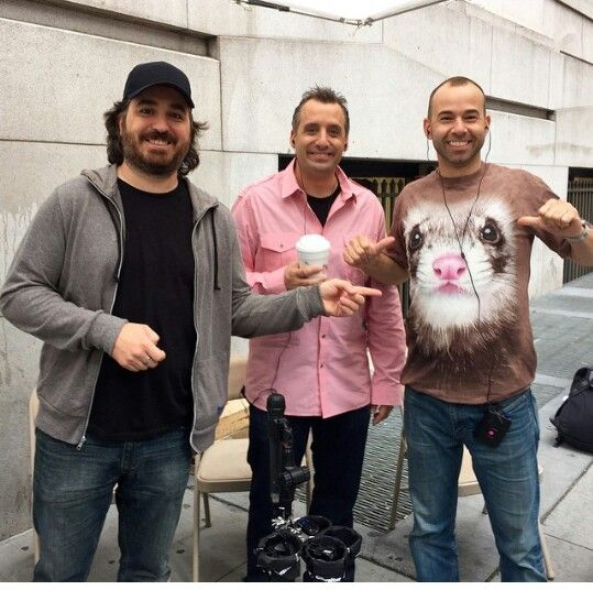 Brian quinn joe Gatto and James Murray impractical jokers ♡