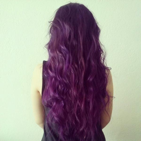 Mor Saç #purplehair