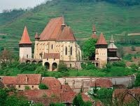 A gothic church in Biertan, Romania. But not an ordinary one!
