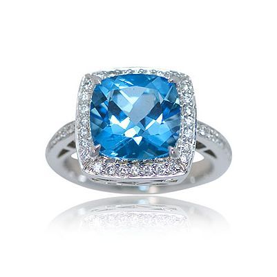Check out one more magnificent color gem stone ring - Parris Jewelers #gemstones