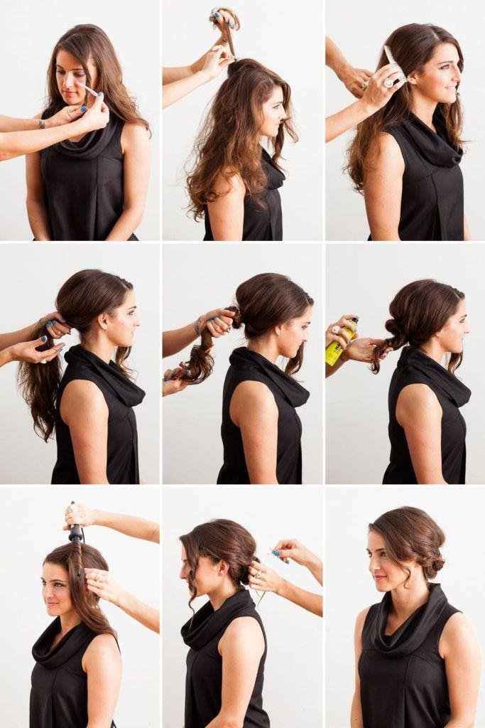 Взъерошенные волосы пошагово