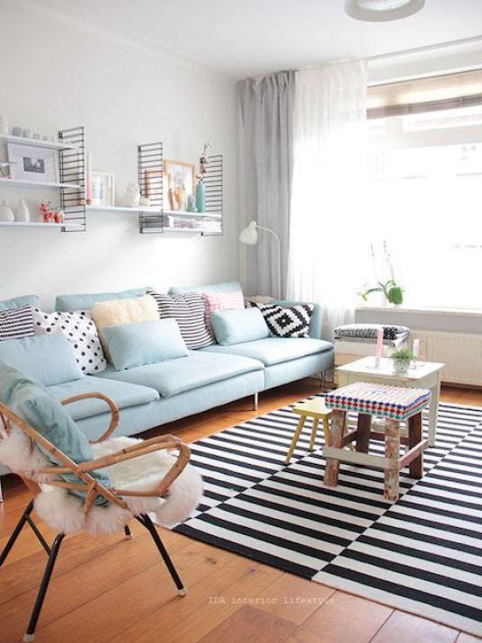 Die besten 25+ schwarzer Sofa Dekor Ideen auf Pinterest - wohnen schwarz wei