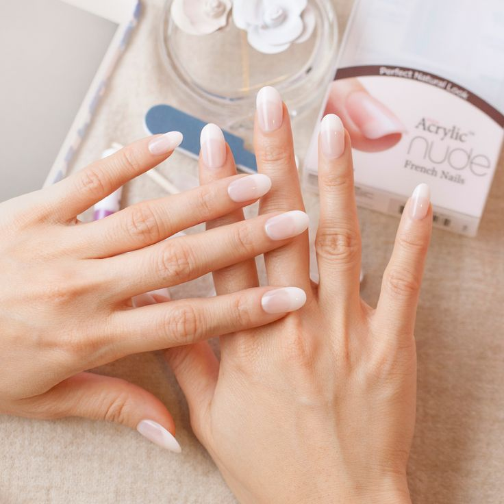20 best Salon Acrylic Nude French Nails images on Pinterest | White ...