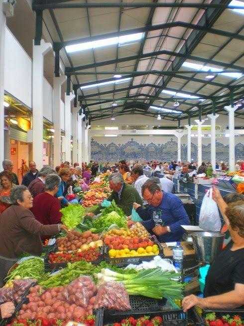 I'll think of something later: The soul of Setúbal - Setubal Food Market, Lisbon Region, Portugal