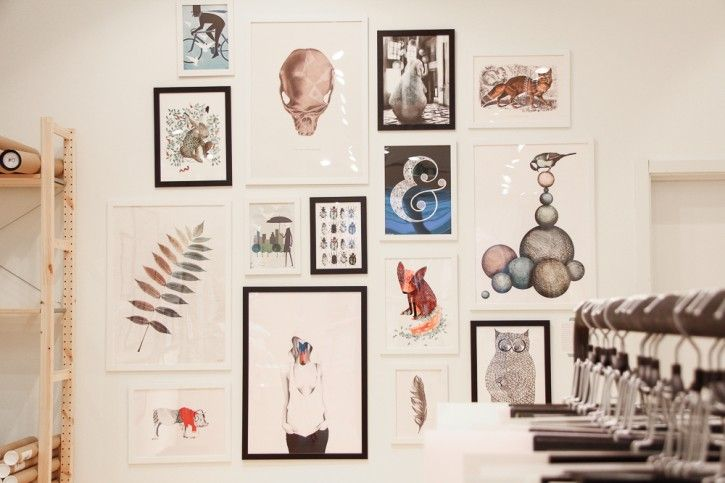 One of our poster walls with prints from our talented Nordic Designers #nordicdesigncollective #store #popup #popupstore #nackaforum #stockholm #shopping #shoppingmall #mall #posterwall #poster #print #annahandell #editochbjornen #linajohanssin #yrva #tovelisa #frame #mooncake #sofiejohansson #sannawieslander #camillaedfors #owl #fox #balans #balance #swan #cranium #bicycle