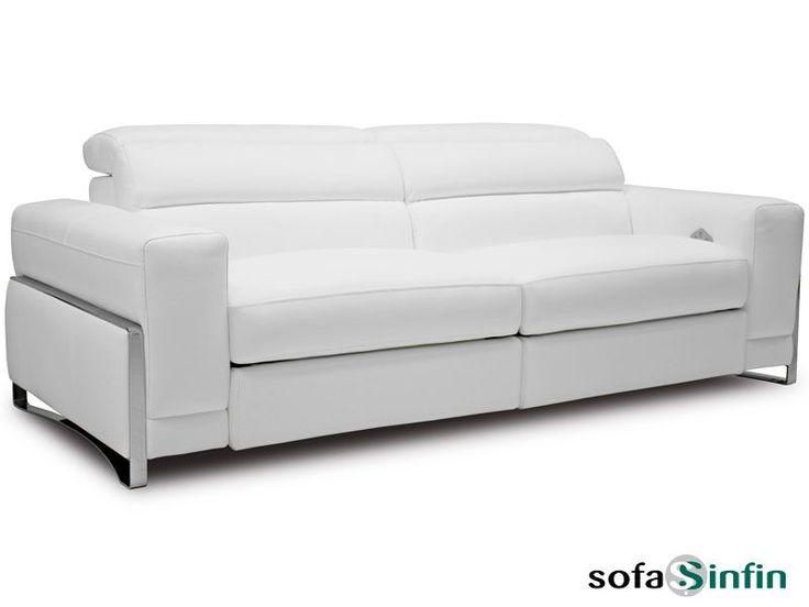 Sofá moderno de 3 y 2 plazas modelo Tiara fabricado por Losbu en Sofassinfin.es