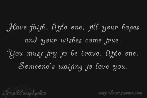 """Quotes About Waiting For Someone You Love: """"Someone's Waiting For You"""" From The Rescuers Down Under"""