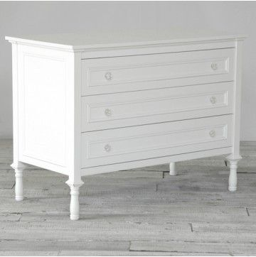 Lilies and Lions beautifully handcrafted Manoir dresser in a french style | Nubie - Modern Baby Boutique