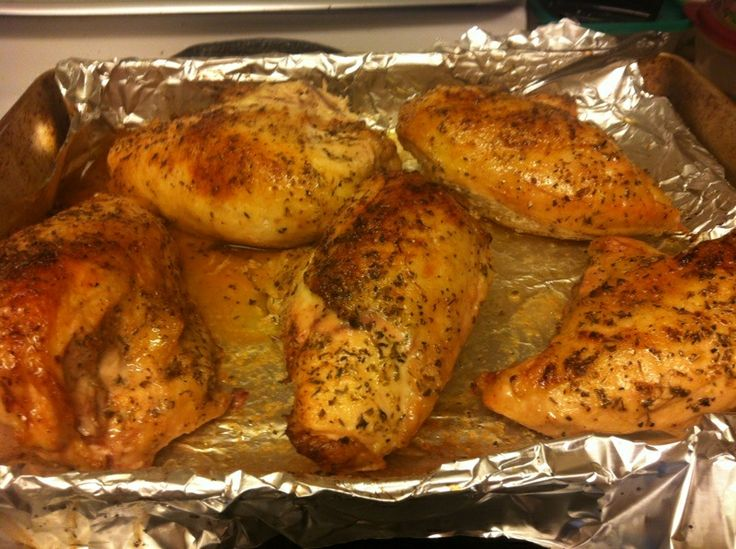 So Yummy 6 Chicken Breast Juice Of One Lemon 1 4 Or More Olive Oil 1 Tbls Oregano Onion Powder