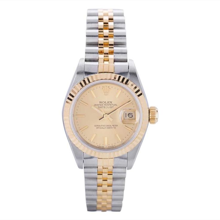 Pre-Owned Rolex Ladies Oyster Perpetual Datejust Watch 69173-8514 | T.H. Baker Family Jewellers