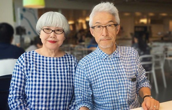 What can an over 60's Japanese couple teach us about fashion and co-ordination? A lot it turns out!
