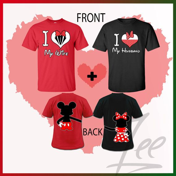 Couple T Shirt Mom And Dad Disney Shirts,Mix And Match Colors N Sizes Of  Any T Shirt,mom N Dad Mickey Shirts Couple Matching