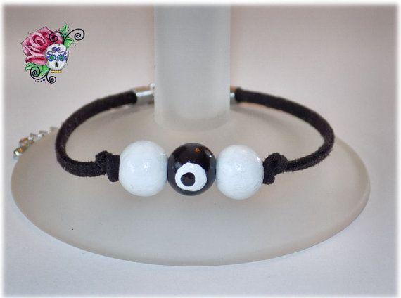 Bracelet Mauvais Oeil Protection Pouvoir par ValniDesignsJewelry