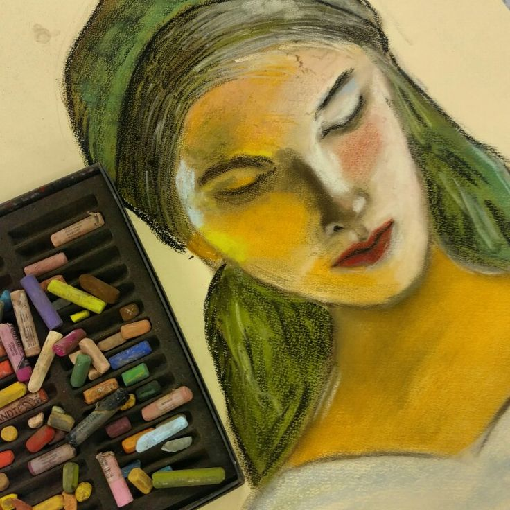 Portrait - Pastel - Larissa Mourão Frota