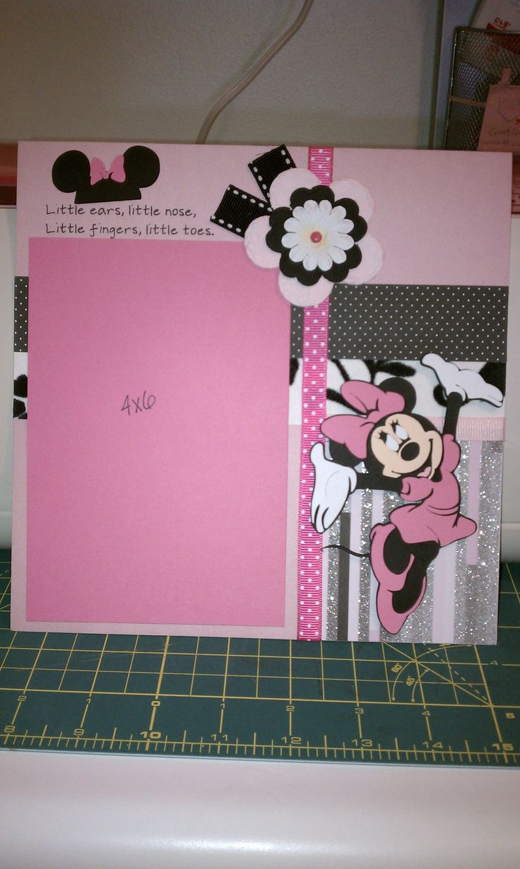 Scrapbook ideas with ribbon - I Got My Inspiration From Silly Bees Chickadee Thanks For Inspiring Me