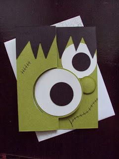 365 Best Cards Halloween Images On Pinterest Halloween Cards