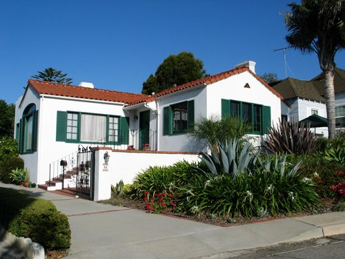 The Spanish Style Home At Encinal Way Was Built In As Part Of The