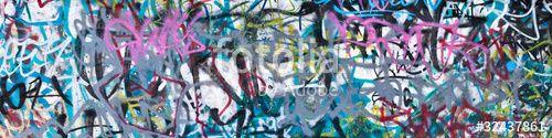 """Téléchargez la photo libre de droits """"Street Graffiti Background"""" créée par JanMika au meilleur prix sur Fotolia.com. Parcourez notre banque d'images en ligne et trouvez l'image parfaite pour vos projets marketing !"""