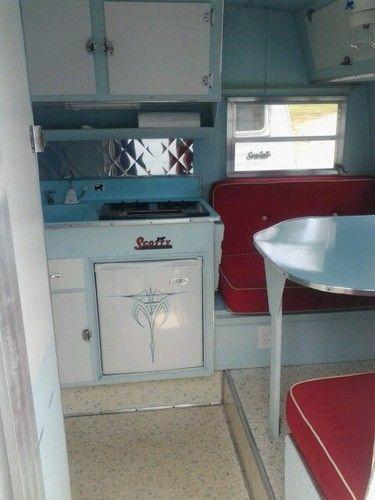 Serro Scotty Camper Interior - 0425