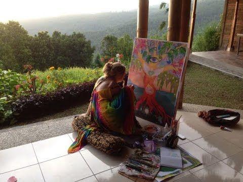 Art & Yoga Retreat in Bali 2016 - Dawn Meader