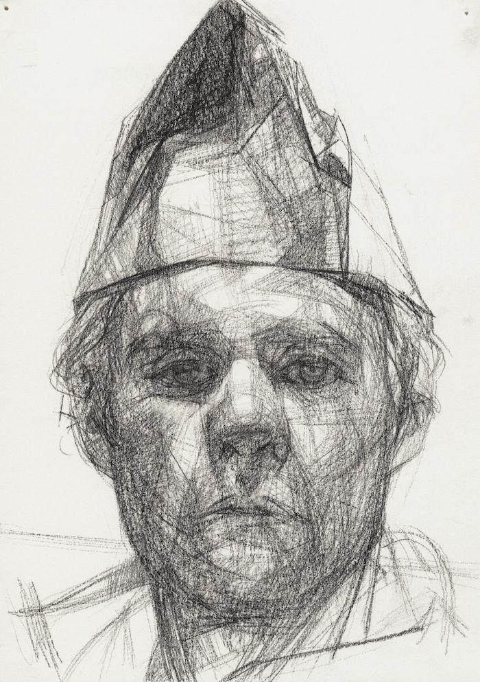 Jason Walker 'Self' self portrait drawing