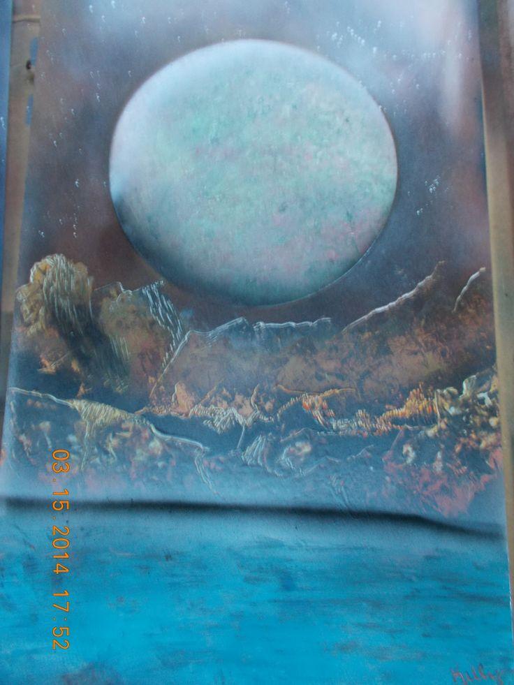 42 best my spray paint art images on pinterest painting. Black Bedroom Furniture Sets. Home Design Ideas