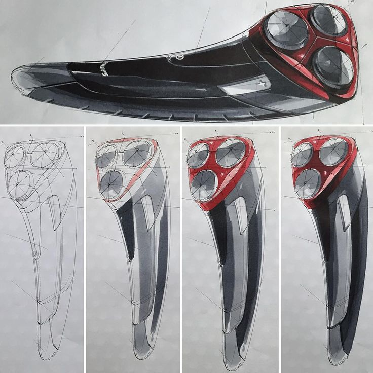 Electric Razor Sketch & Design www.skeren.co.kr #productdesign…
