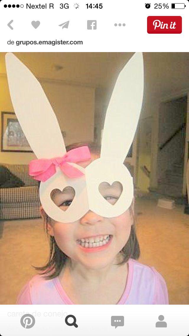 Mascara conejo