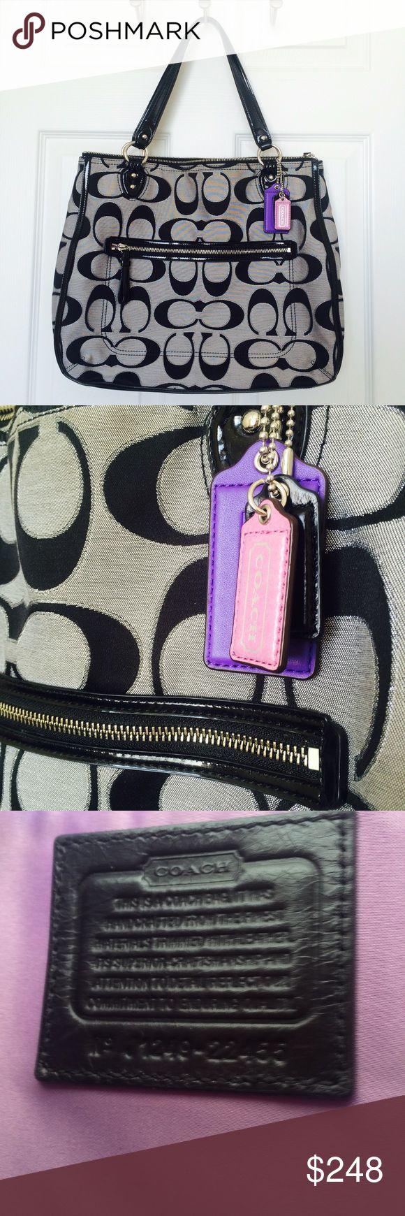 dfed9100ec4b Best i love coach images on pinterest coach handbags coach jpg 580x1740  Purple leopard coach weekender